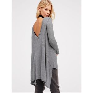 Free People The Incredible Tee in Gray